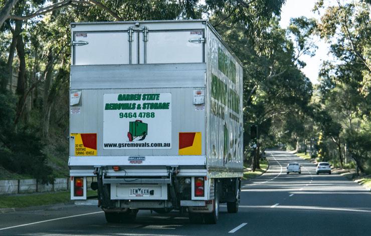 garden state removals van